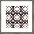 Azulejos Magic Pattern - 06 Framed Print