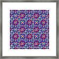 Azulejos Magic Pattern - 07 Framed Print