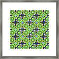 Azulejos Magic Pattern - 08 Framed Print