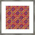 Azulejos Magic Pattern - 10 Framed Print