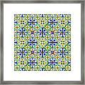 Azulejos Magic Pattern - 11 Framed Print