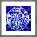 Azure Orb Of Midas Framed Print