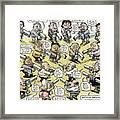 Bad Guys Watch Out Framed Print