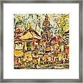 Balinese Ceremony  Framed Print