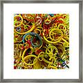Ball Of Chihuly Glass Framed Print