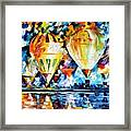 Balloon Festival New Framed Print
