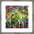 Bang It Out Framed Print