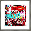 Barcelona Street Graffiti Framed Print