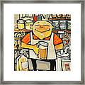 Basement Brewer Framed Print