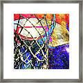 Basketball Artwork Version 179 Framed Print