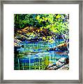 Bear Paw Stream Framed Print