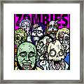Bearded Zombies Group Photo Framed Print