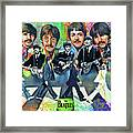 Beatles Fan Art Framed Print