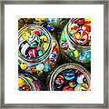 Beautiful Marble Collection Framed Print