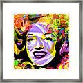Beautiful Marilyn Monroe Framed Print