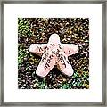 Beautiful Starfish In The Coral Reef Framed Print