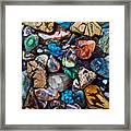 Beautiful Stones Framed Print