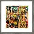 Beautiful Sulmona Italy Framed Print