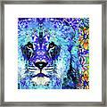 Beauty And The Beast - Lion Art - Sharon Cummings Framed Print
