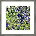 Bedtime Color Abstract Framed Print