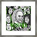 Beetlejuice Tribute Framed Print