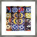 Belmar Tiles By Darian Day Framed Print