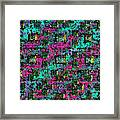 Bending Color And Light #2 Framed Print