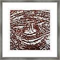 Ben's Smile - Tile Framed Print