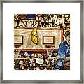 Beware The Smiling Banana  Framed Print