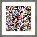 Big Bang Theory Framed Print by Big Mike Roate