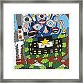 Big Brother Framed Print by Rojax Art