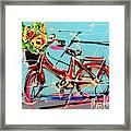 bike of Amsterdam series 2018 no.2 Framed Print