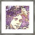 Billy Joel Pop Art Framed Print