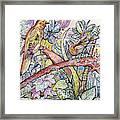 Birds For Louise #3 Framed Print