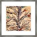 Birds In A Tree Framed Print