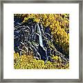 Bishop Creek Falls Framed Print