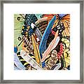 Bits Of Flight Framed Print