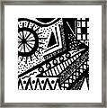 Black And White 15 Framed Print