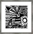 Black And White 19 Framed Print