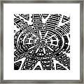 Black And White Abstracts Framed Print