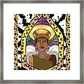 Black Angel Framed Print by Brenda Dulan Moore