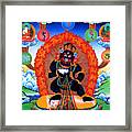 Black Jambhala  1 Framed Print