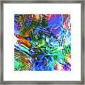Bleached Vibrance Framed Print