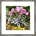 Blossoming Flowers Framed Print