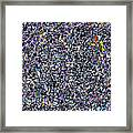Blue Complex  Framed Print
