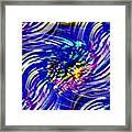 Blue Eddy Framed Print