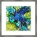 Blue Moth Framed Print