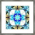 Blue Pool Framed Print
