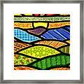 Blue Ridge Sunrise Framed Print