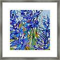 Bluebonnets Of Texas Framed Print